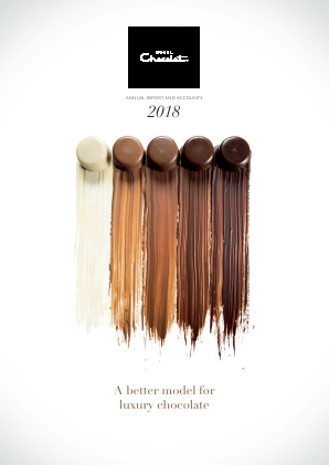 Hotel Chocolat Group annual report 2018