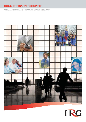 Hogg Robinson Group Plc annual report 2007