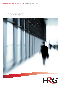 Hogg Robinson Group Plc annual report 2013
