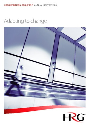 Hogg Robinson Group Plc annual report 2014