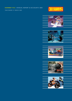 Hornby Plc annual report 2005