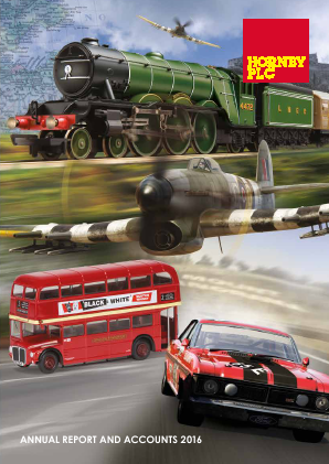Hornby Plc annual report 2016