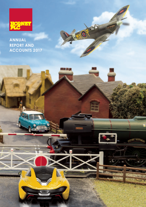 Hornby Plc annual report 2017