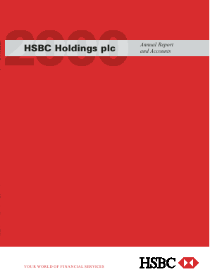 HSBC Holdings annual report 2000