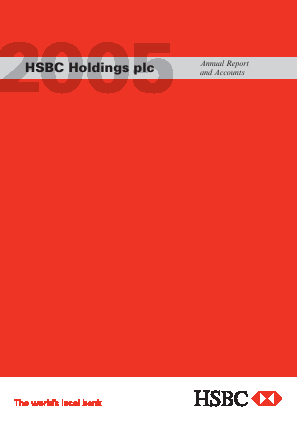 HSBC Holdings annual report 2005