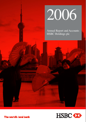 HSBC Holdings annual report 2006