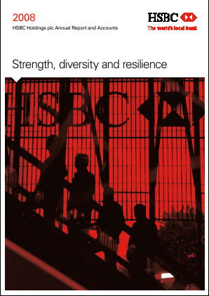 HSBC Holdings annual report 2008