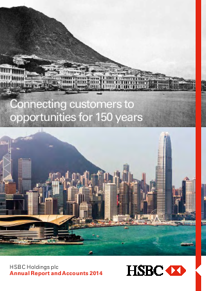 HSBC Holdings annual report 2014