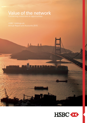 HSBC Holdings annual report 2015