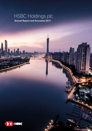 HSBC Holdings annual report 2017
