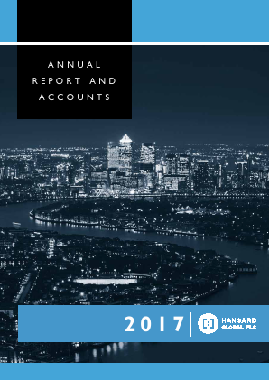 Hansard Global Plc annual report 2017