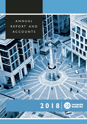 Hansard Global Plc annual report 2018
