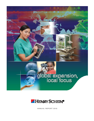 Henry Schein, Inc. annual report 2010