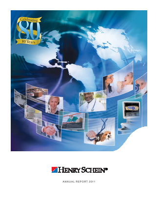 Henry Schein, Inc. annual report 2011
