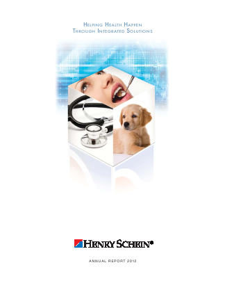 Henry Schein, Inc. annual report 2012