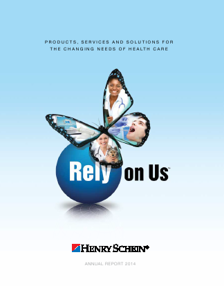 Henry Schein, Inc. annual report 2014