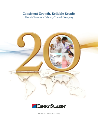 Henry Schein, Inc. annual report 2015