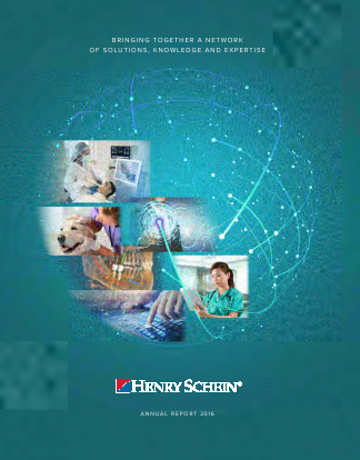 Henry Schein, Inc. annual report 2016