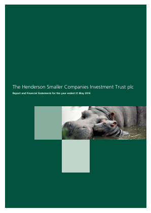 Henderson Smaller Companies Investment Trust annual report 2014