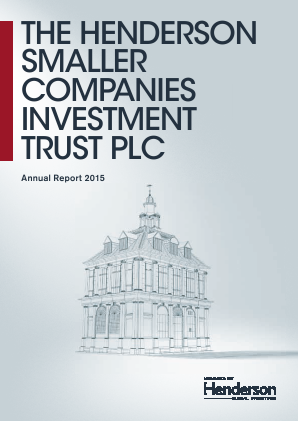 Henderson Smaller Companies Investment Trust annual report 2015