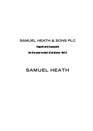 Heath(Samuel)& Sons annual report 2014