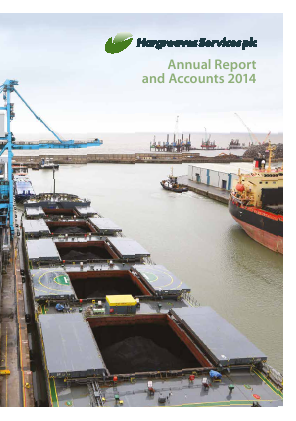 Hargreaves Services annual report 2014