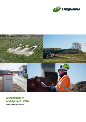 Hargreaves Services annual report 2016