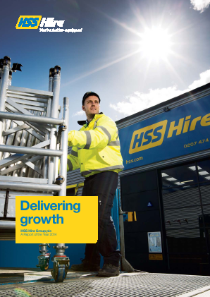 HSS Hire Group Plc annual report 2014