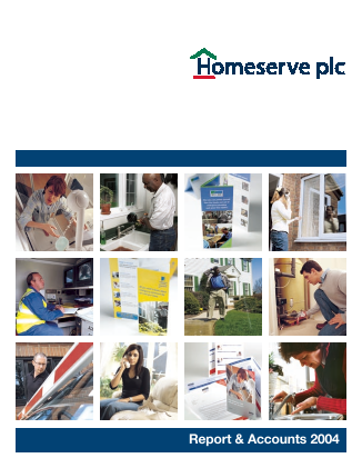 Homeserve annual report 2004