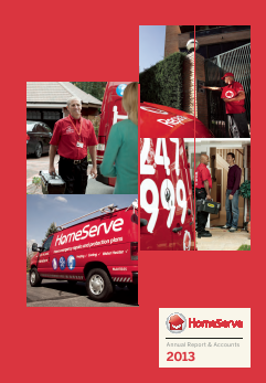 Homeserve annual report 2013