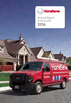 Homeserve annual report 2016