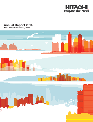 Hitachi annual report 2014