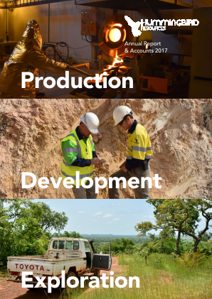 Hummingbird Resources Plc annual report 2017
