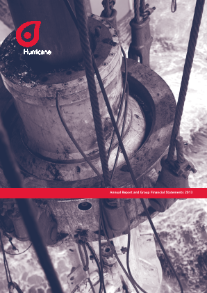 Hurricane Energy Plc annual report 2013