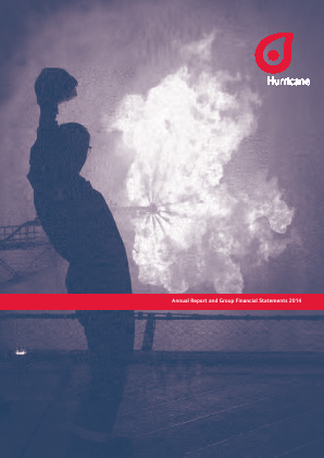 Hurricane Energy Plc annual report 2014