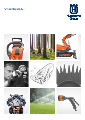 Husqvarna annual report 2011