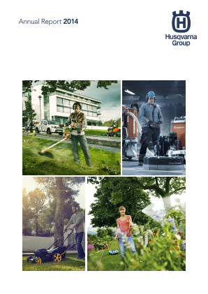 Husqvarna annual report 2014