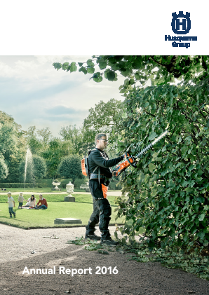 Husqvarna annual report 2016