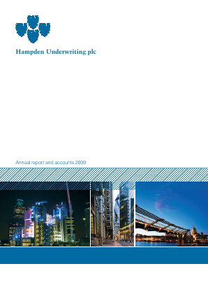 Helios Underwriting Plc annual report 2009