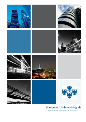 Helios Underwriting Plc annual report 2011