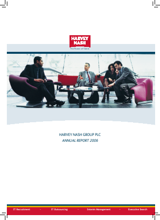 Harvey Nash Group annual report 2006