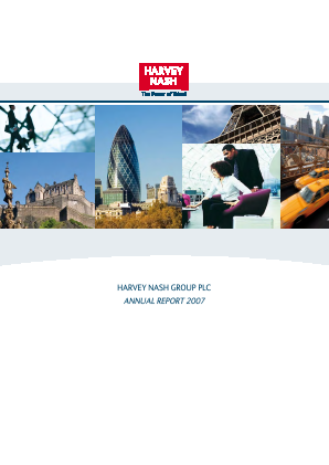 Harvey Nash Group annual report 2007