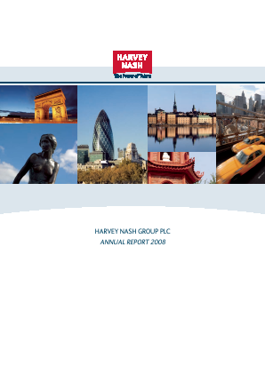 Harvey Nash Group annual report 2008