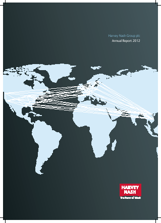 Harvey Nash Group annual report 2012