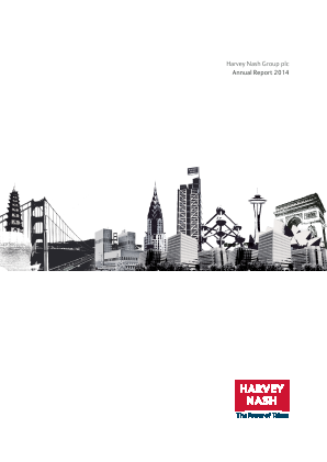 Harvey Nash Group annual report 2014
