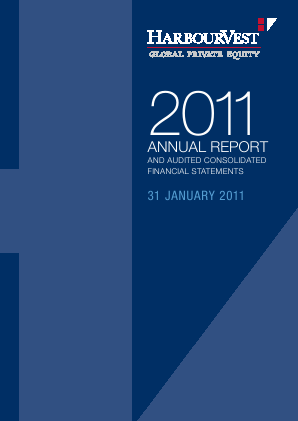 Harbourvest Global Private Equity annual report 2011