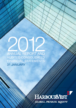Harbourvest Global Private Equity annual report 2012