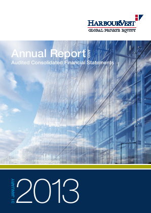 Harbourvest Global Private Equity annual report 2013