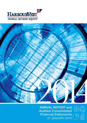 Harbourvest Global Private Equity annual report 2014
