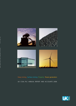 Harworth Group Plc annual report 2006